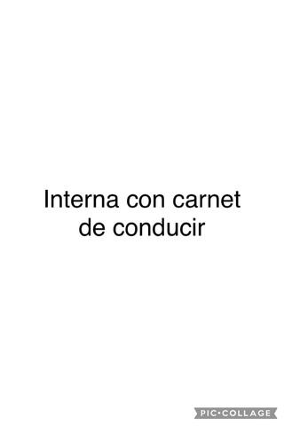 SE BUSCA INTERNA COM CARNET DE CONDUCIR