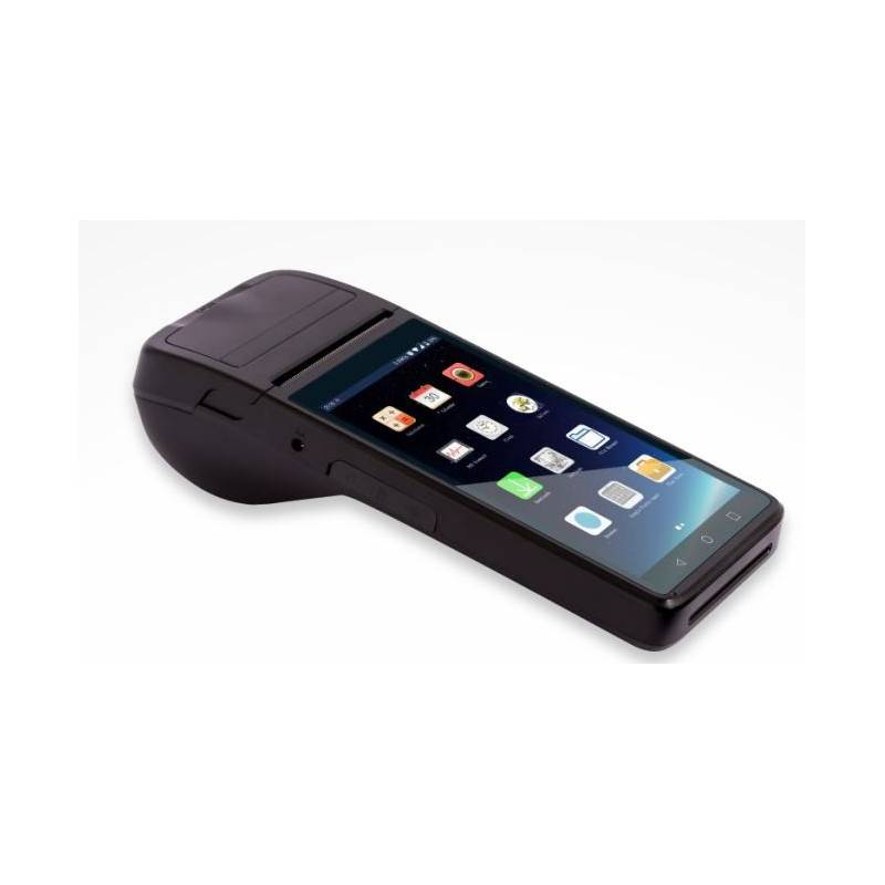 terminal de mano PDA con impresora de tickets